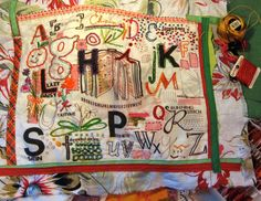 Great stitching  from Rebecca Rinquist