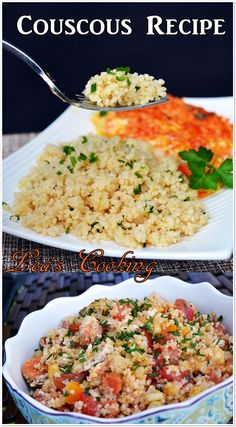 """Leas Cooking: """"Simple Couscous Recipe""""   When it comes to jazzing up couscous, you can pretty much add anything."""
