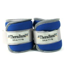 Thera-band 25872 Comfort Fit Ankle/wrist Cuff Weights, Blue, 2.5 Pounds Each Cuff, 1 Pair by TheraBand, http://www.amazon.com/dp/B002WCAVDK/ref=cm_sw_r_pi_dp_-YWasb0V8K43R