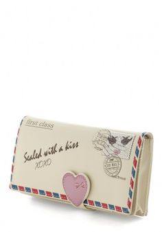 Clutch lettera d'amore ModCloth primavera/estate 2014 - #ModCloth #Clutch #bag