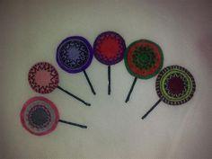 Horquilla hecha a mano. Personalizable. Colores a por BellyPork, €1.50