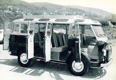 Alfa Romeo, Romeo 2 van, an Italian alternative the VW Type 2 T3 Vw, 1950s Car, Blue Bus, Mini Bus, Pretty Cars, Alfa Romeo Cars, Weird Cars, Commercial Vehicle, Classic Italian
