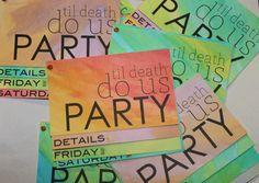 #bachelor #bachelorette party invites