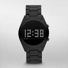 Marc Jacobs   Black   Wristwatch   Watch   Digital Watch