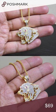 I just added this listing on Poshmark: 14k Gold Lab Diamond Panther Charm Chain Set. #shopmycloset #poshmark #fashion #shopping #style #forsale #Other