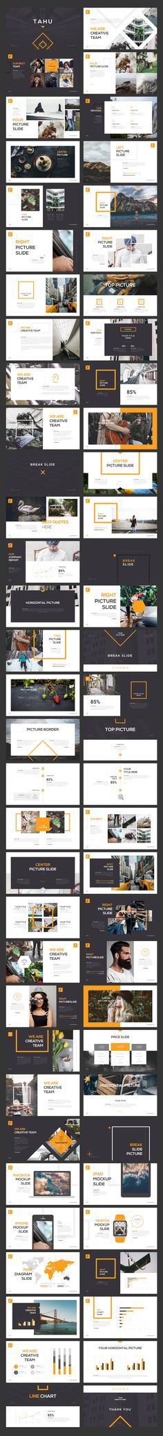 TAHU Keynote Template by Angkalimabelas on @creativemarket                                                                                                                                                                                 More