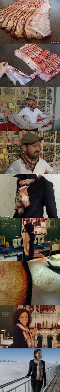 Bacon Scarf!
