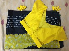 Own saree with self customised blouse Stylish Blouse Design, Blouse Back Neck Designs, Fancy Blouse Designs, Saree Blouse Patterns, Designer Blouse Patterns, Blouse Models, Sarees, Indian Fashion, Women's Fashion