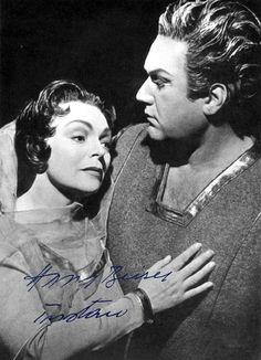 """Martha Mödl und Hans Beirer """" Tristan und Isolde """" Berlin Städt.Oper 1959"""