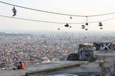 Full view of Barcelona from Bunker del Carmel - Turó de la Rovira (Barrio del Carmel) Барселона, Amazing, Париж На Фоне Неба, Европа, Земля, Модернизм, Города, Картинки