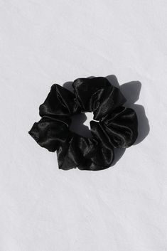 Girls Room Accessories, Black Scrunchies, Black Satin, Hair Beauty, Halloween, Classic, Style, Products, Women's Casual Looks
