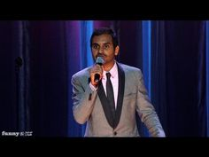 Aziz Ansari Standup - Texting with Girls (Dangerously Delicious Preview)