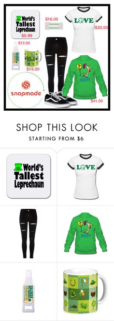 """Snapmade St Patrick's Day (PLEASE LIKE!)"" by freida-adams ❤ liked on Polyvore"