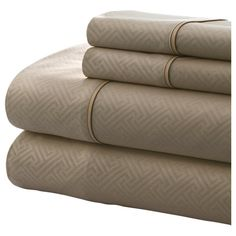 Found it at Wayfair - Notting Hill Oxford 4 Piece Sheet Set in Taupe http://www.wayfair.com/daily-sales/p/White-Sale%3A-Bedding-Sets-%26-More-Notting-Hill-Oxford-4-Piece-Sheet-Set-in-Taupe~COTA1063~E16251.html?refid=SBP.rBAZEVQ6QCOXZnZG-SVaAo3B2cXrXUivtRNfXcHSBhA