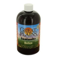 Yerba Prima Great Plains Bentonite Detox 16 OZ (Pack of 3)   (Vitaminder Power Shaker Bottle, 20 oz Bottle) *** Wow! I love this. Check it out now! : Weight loss Shakes and Powders