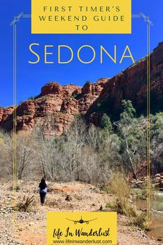 Space Guide First Timer's Weekend Guide to Sedona, Arizona - Life In Wanderlust - A First Timer's Weekend Guide to Sedona Arizona! Things to do, hikes, tours of the Grand Canyon, restaurants and staying at the Sedona Rouge Hotel Arizona Road Trip, Arizona Travel, Sedona Arizona, Visit Arizona, Vacation Deals, Vacation Trips, Vacation Spots, Travel Deals, Travel Hacks