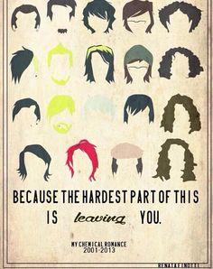 MCR hair styles