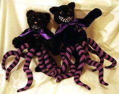 Reserved for Kadeth Purple and black striped by BlackBerryThorn