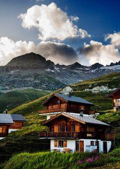 Balalp, Switzerland: Mountain Village