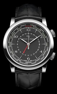3D David Yurman Classic GMT Timepiece
