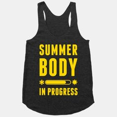 c465b7d610bf Summer Body In Progress Tank - Tap the pin if you love super heroes too!  you will LOVE these super hero fitness shirts!