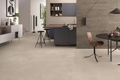 Interior Styling, Interior Design, Diy Kitchen Remodel, Stone Flooring, Minimalism, Sweet Home, New Homes, Living Room, Table