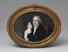 Francois M. Guyol de Guiran: Portrait of a Gentleman and His Daughter (2001.95) | Heilbrunn Timeline of Art History | The Metropolitan Museum of Art