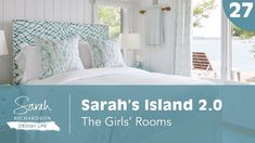 Design Life: Sarah's Island The Girls' Rooms (Ep. Porch Wall, Sarah Richardson, Victorian Farmhouse, Home Technology, Booth Design, Modern Family, Smart Home, Island 2, All Design