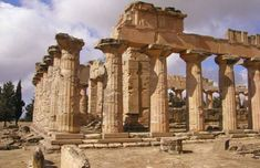 Temple of Zeus, Olympia, Greece