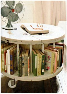 Where to Find a Wooden Spool and How to Use It in Your Home