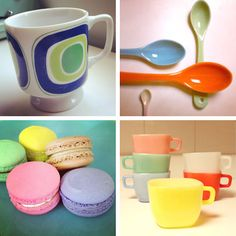 A bit of retro inspiration for Ampersand Designs' Cream and Sugar