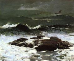Winslow Homer, oil, Summer Squall