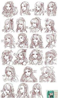 Manga Hair