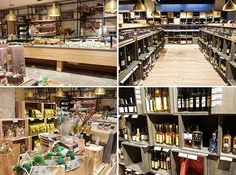 Foodie heaven at the Pur Sudtirol shop in Bolzano. Bruneck