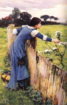 (448x699, 135Kb)  Джон Уильям Уотерхаус. Весна.