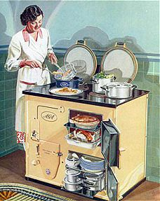 how to cook on aga stove