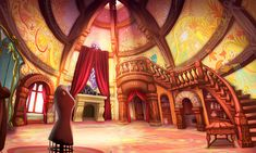 Rapunzel Fortress Room - Pictures