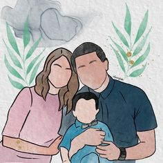 Family portrait 💖 . . . . .  #digitalportrait #digitalwatercolorportrait #digitalart #digitalillustration #baguioartist #procreate #illustrationart #procreateart #ipadart #procreatewatercolor #digitalwatercolorartist #alcoholink #digitalwatercolor #myartstyle #watercolorartist #watercolorpainting #artph #commissionedart #guhitpinas #colouraesthetic #facelessportrait #vectorportrait #digitalwatercolorpainting #dailydigitalart #artjournal #fashionillustration #portraitillustration… Vector Portrait, Digital Portrait, Digital Art, Portrait Illustration, Digital Illustration, Watercolor Portraits, Watercolor Paintings, Faceless Portrait, Mission E