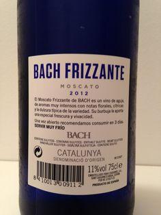 Bach Frizzante Moscato D. Shampoo, Personal Care, Bottle, Bubble, Report Cards, Self Care, Personal Hygiene, Flask, Jars
