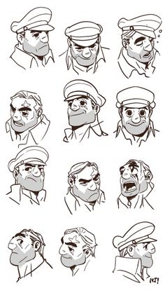 Pin by tatthon siriruchatapong on character Character Design Sketches, Character Design References, Character Illustration, Character Art, Cthulhu, Facial Expressions Drawing, Cartoon Sketches, Animation, Cartoon Design