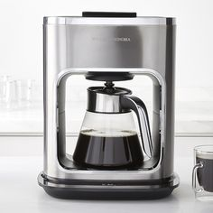 Williams-Sonoma Signature Touch 12-Cup Glass Coffee Maker. Designed by Phil Rose, and Mihai Hogea.