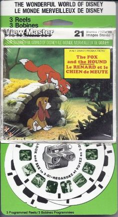 Disney's The Fox and the Hound 3d View-Master