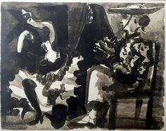 Pablo Picasso. Picador, woman and dead, 1960