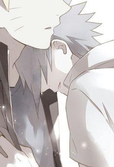 Sasuke and Naruto #BestFriends