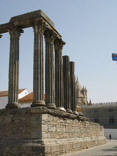 Roman Temple of Évora. 1st century AD, Portugal.