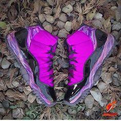 e97e59909ea16 Nike Air Foamposite One Pink Via http   www.kickshotsale.com whatsapp