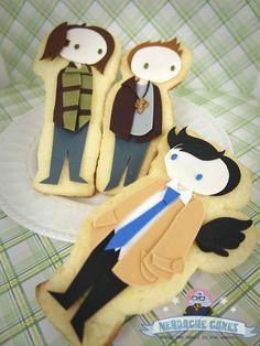 Nerdache Cakes - Supernatural Cookies