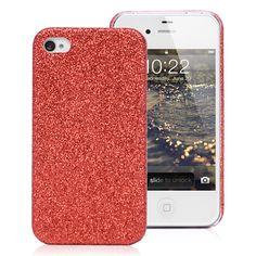 Red glitter iPhone 4 case $3.49