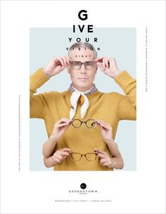 """""""The Eye Ball"""" by Design Army For Georgetown Optician"""