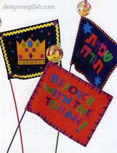Design Megillah: Simchat Torah Flags